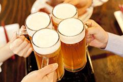 ビール / お酒